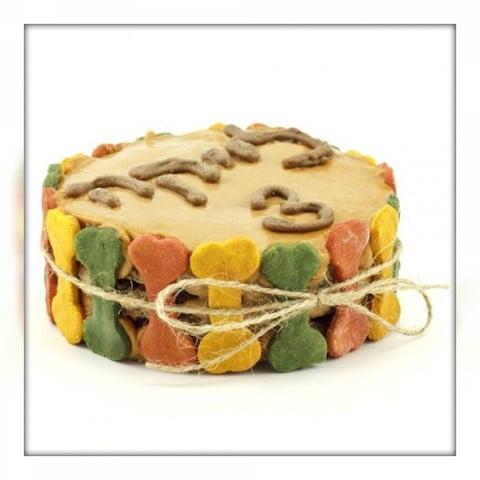 Собачий торт домашнего приготовления, как самому приготовить тортик для собаки.