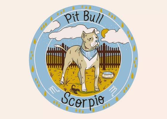 Питбуль для Скорпиона (23 октября-21 ноября); Ваша собака по знаку зодиака